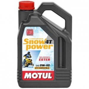 Motul SNOW POWER 4T 0W40 4L