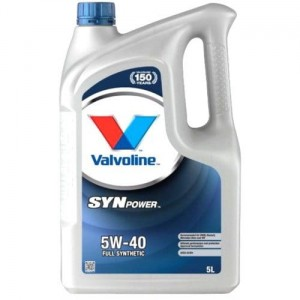 VALVOLINE SYNPOWER 5W-40 VW 502.0/505 BMW LL-98 5L