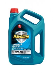 TEXACO Havoline Energy 5W-30 4L A5/B5 913D