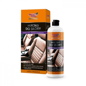 MOJE AUTO Detailer mleczko do sk贸ry 500 ml